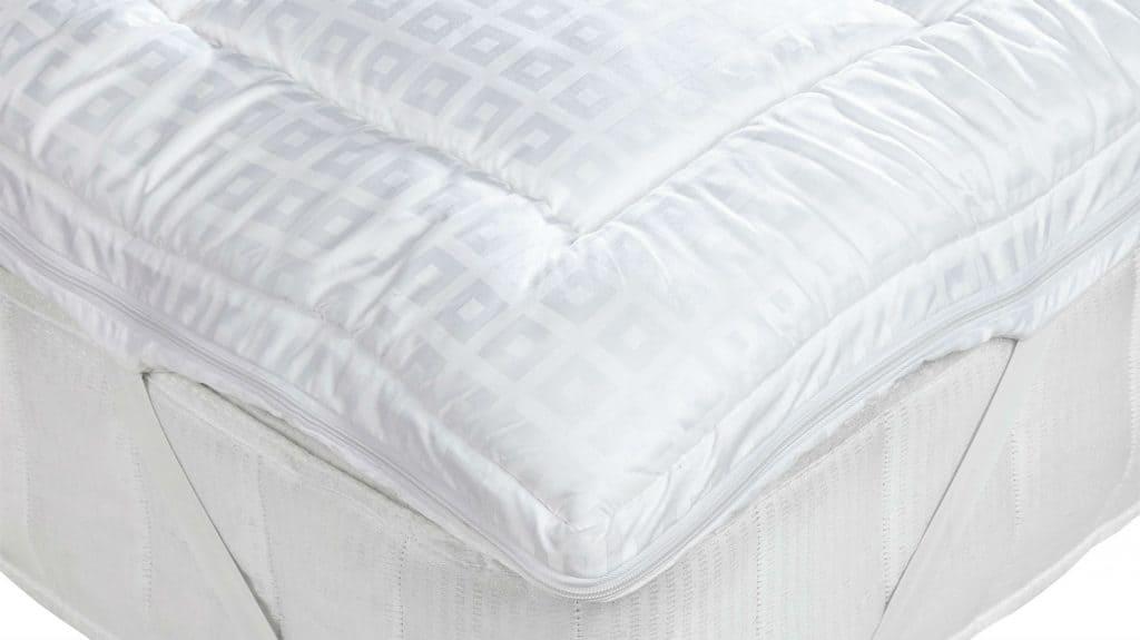 mattress and topper