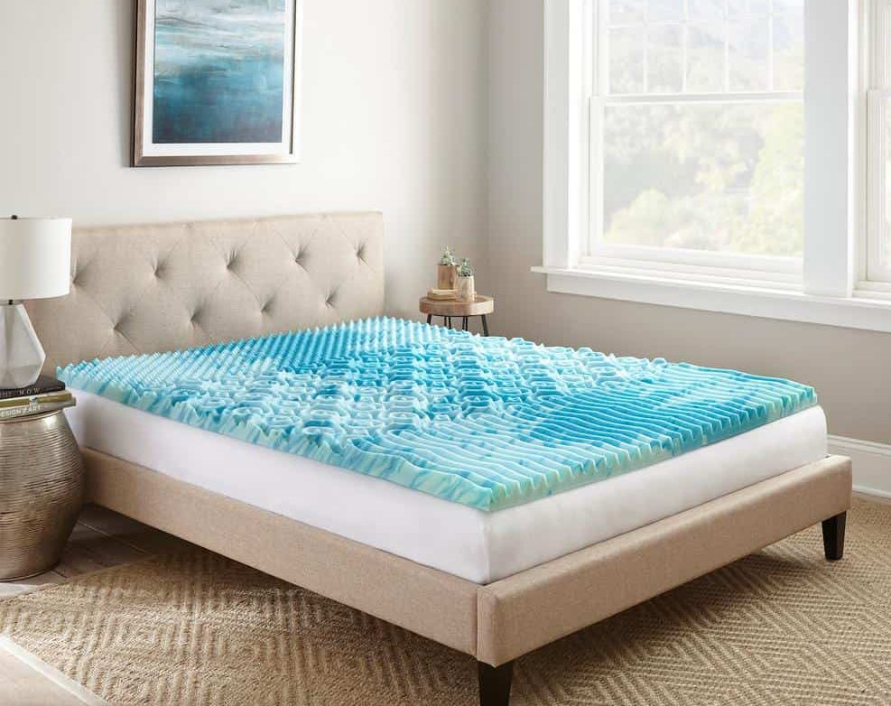 the best gel infused mattress topper